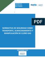 03 Normativa de Seguridad Sobre Transporte Almacenamiento y Manipulación de Cloro Gas