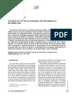 Australia y Su Plan Integral de Desarrollo de Mercado - PDF