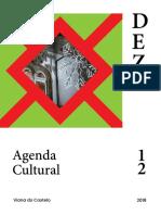 Agenda Cultural de Dezembro 2018