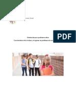 4- Orientaciones de Los Profesores - Caracteristicas de Victima y Victimario Bullying Docu