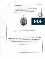 Normas Para a Administración, Uso, Control, Cuidado y Custodia de Bienes e Inmuebles de La UNAMAD - 2010