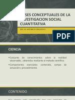 Bases Conceptuales de La Investigacion Social Cuantitativa