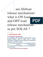 What Are Lifeboat Release Mechanism
