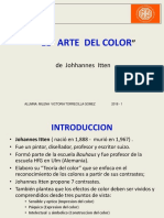 El arte del color - Ensayo