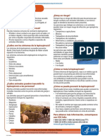Lepto Fact Sheet Espanol