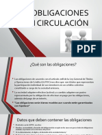 2.4 Obligaciones en Circulacion