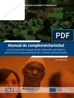 ICTJ Manual Complementariedad SP