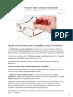 Boliviaimpuestos.com-Como Hacer La Prevision Para Cuentas Incobrables