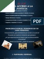 Acceso a La Justicia, Claustro de Sor Juana