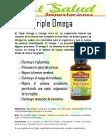 Triple Omega Nature Made