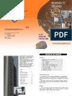 102-1-上自仪电动头说明书manual de Actuador Eléctrico