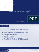 Focus Your Sub Arrays
