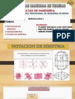 Notacion de Simetria