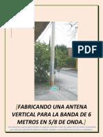 Antena 6 Metros 5_8
