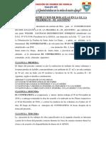 Contrato de Construccion de Dos Aulas en La i e La Pardera II