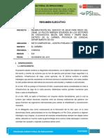 Resumen Ejecutivo Bocatoma La Pelota