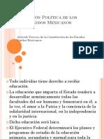 constitucion poltica de los estados unidos mexicanos
