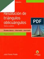Resolución de Triángulos Oblicuángulos Lumbreras