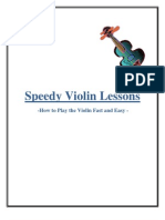 Speedy Violin Lessons