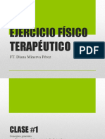 EJERCICIO FÍSICO TERAPÉUTICO