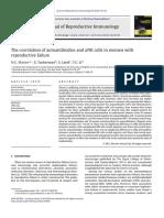 Associação células NK uterinas e autoimunidade