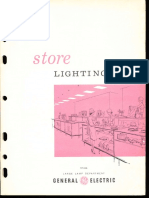 GE Retail Store Lighting Application Brochure 1964