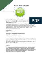 Sistema Operativo Aix