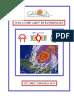 Plan Coordinador de Emergencias Qroo