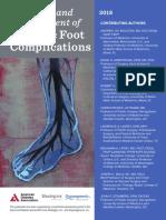 Guía de diagnóstico y tratamiento de las complicaciones del pie diabético ADA (2018)