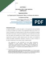 Lectura I La Organizacion Como Sistema