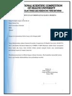 Lembar Pernyataan Orisinalitas Karya Peserta