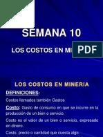 Costos en Mineria - Ale