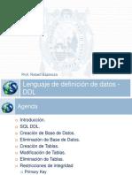 T05-Lenguaje de Definición de Datos - DDL