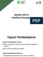 Modul Inti-4. Notifikasi Pasangan