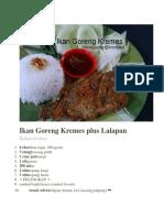 Ikan Goreng Kremes plus Lalapan.docx