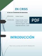 Exposicion Terapia en Crisis