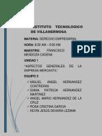 Tema 1 Aspectos Generales de La Empresa Mercantil