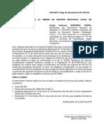 Solicita Pago 037-94