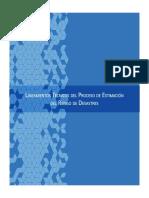 LINEAMIENTOS PROCESOS_ESTIMACIÓN