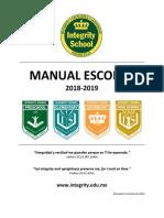 ISAC - Manual Escolar Integrado 2018-2019