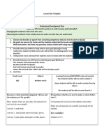 lesson plan form