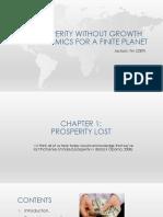 Prosperidad Sin Crecimiento