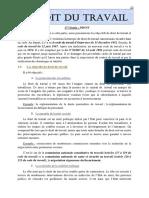 Droit Du Travail Cour Actuel 2015