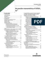 NOR 1001 Manual Spanish 524-1