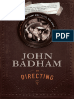 John Badham on Directing by John Badham