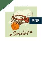 Planificacion de Unidad de Baloncesto