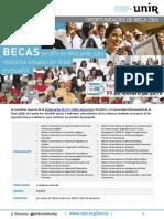 Convocatoria Becas OEA-UNIR Primavera 2019