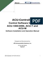 ACU Controller Manual June 2016 Rev 6 0