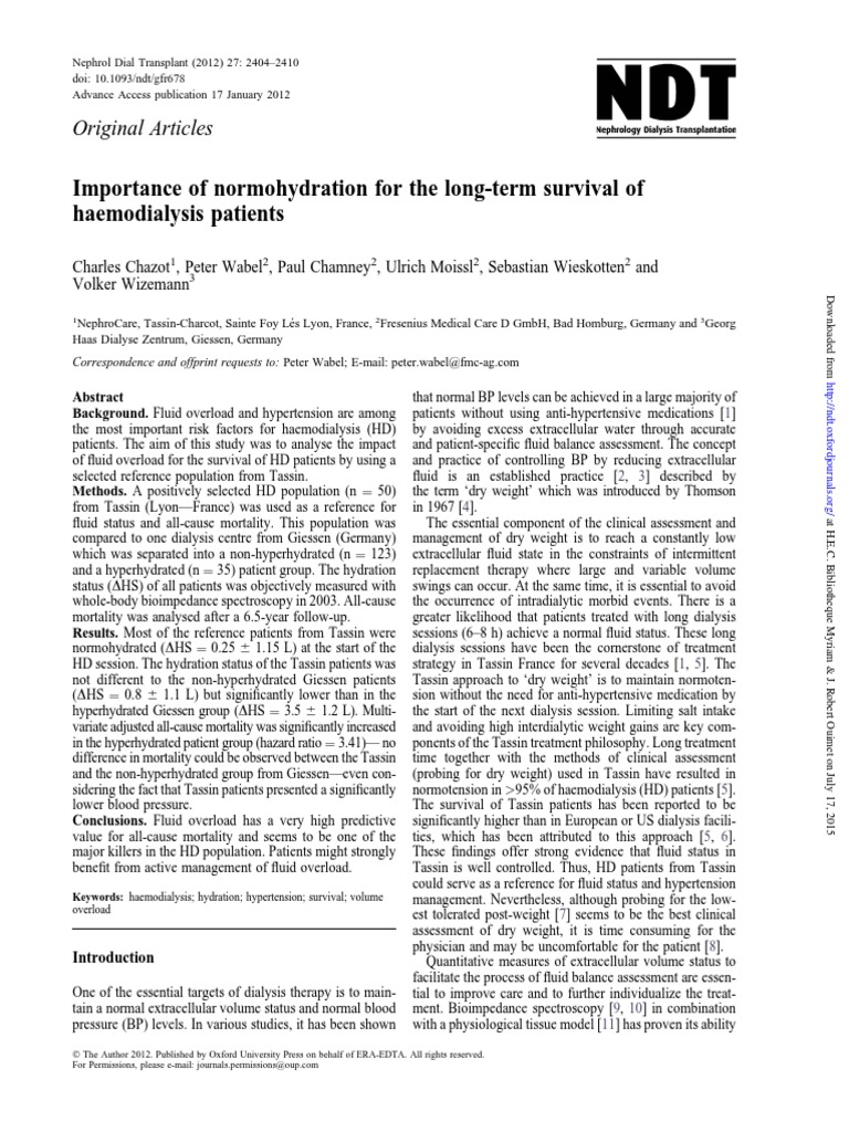 Bibliothèque Ste Foy Les Lyon chaz ot 2012   hemodialysis   hypertension
