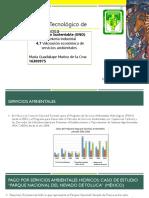 4.7 Valoración Económica de Servicios Ambientales_MuñozdelaCruz